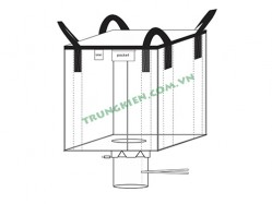 Open top FIBC bulk bags