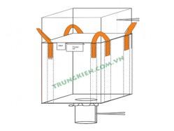 Duffle top FIBC bulk bags