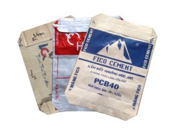 Block bottom cement bags (Adstar bag)